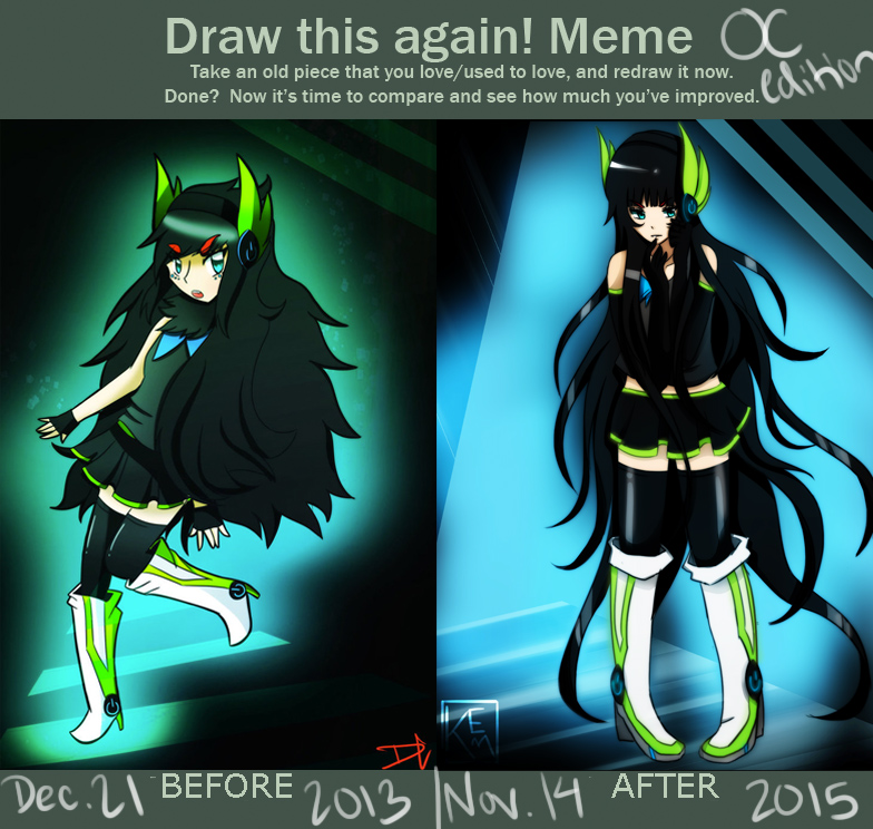 OC Improvement by DC-san