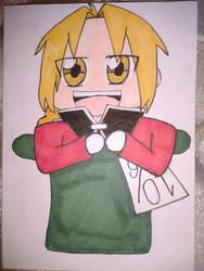 Madhatter Ed by FullmetalUsagi