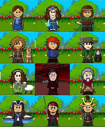 WoT Characters Completed by Cweed1