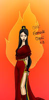 Female Ozai colored version