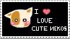 I Love Cute Nekos by Rosette-chaN