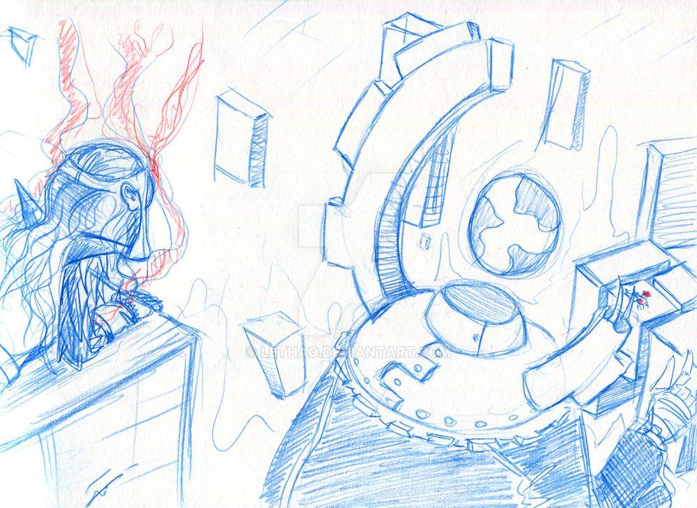 Rocket et Willow en vue by Lethao