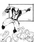 Wolverine vs Hand