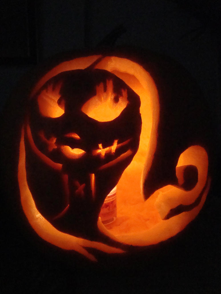 jack and sally pumpkin carving template - photo #13