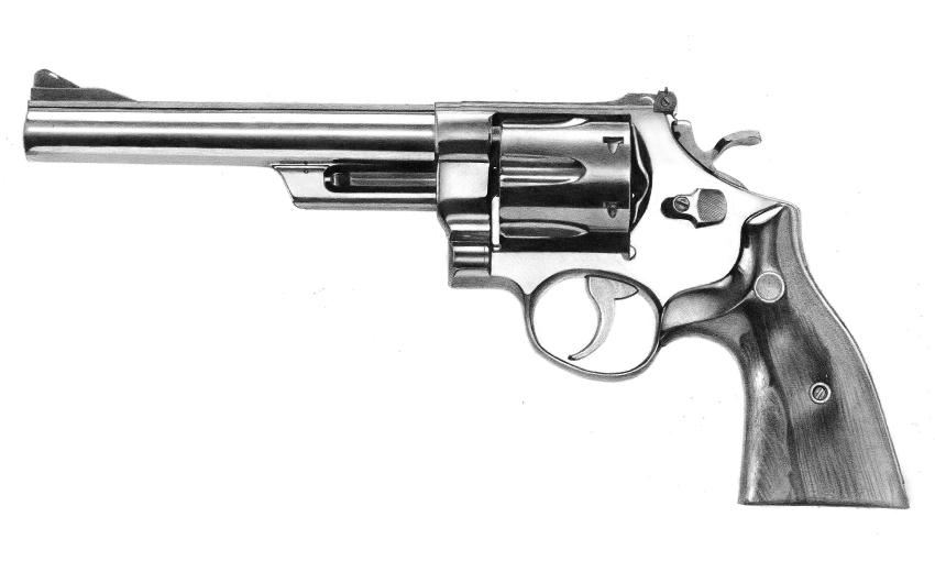 Smith and Wesson Magnum .44