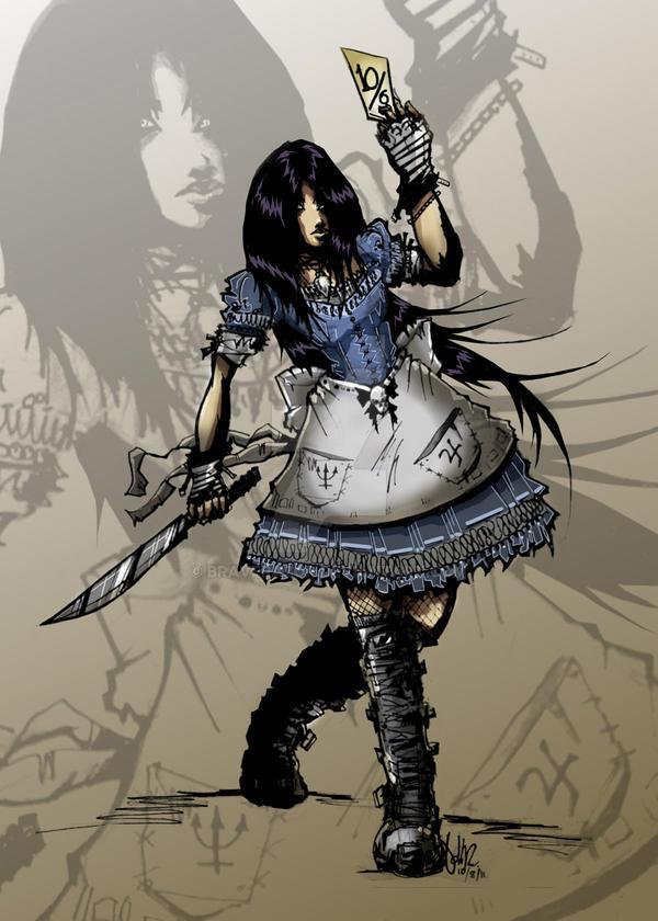 DARK Alice by braverazor