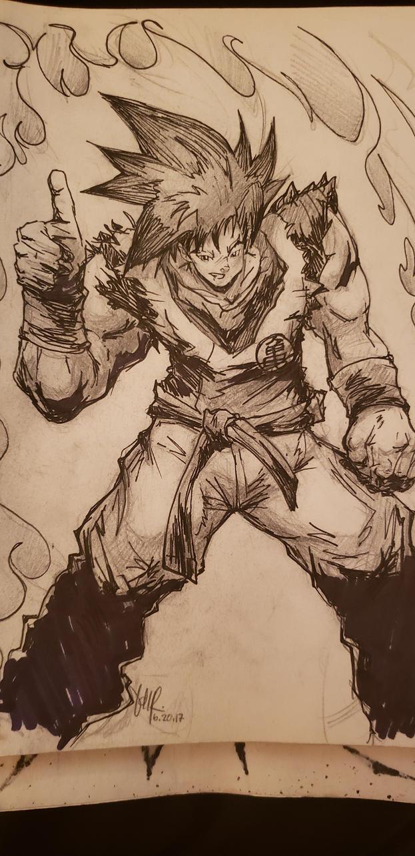 Goku go go by braverazor