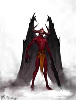Demon, final boss commission
