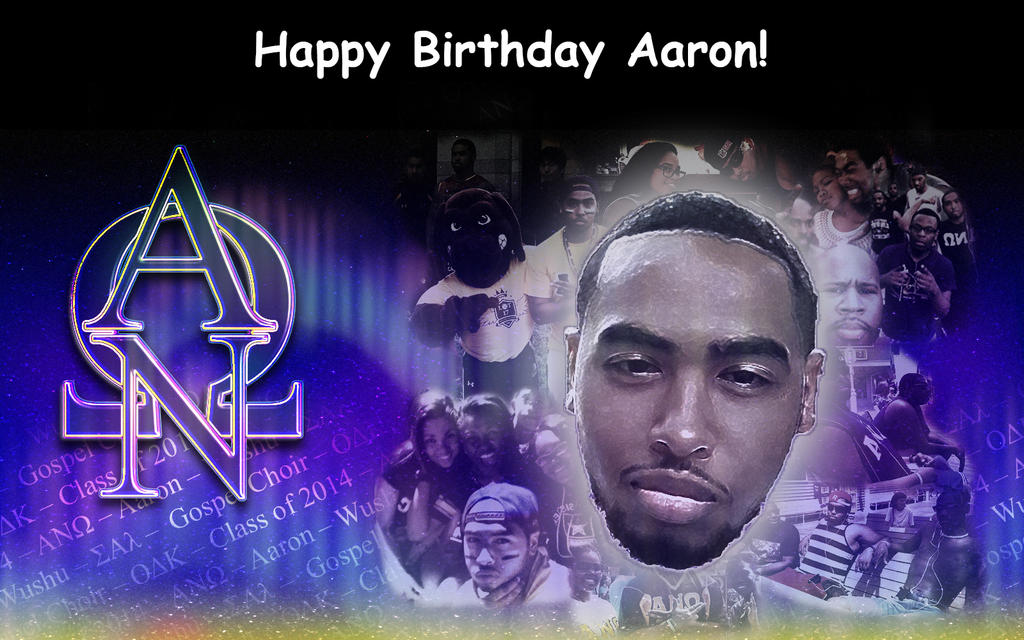 Poster image from ''Aaron Birthday'' by WrightWorks