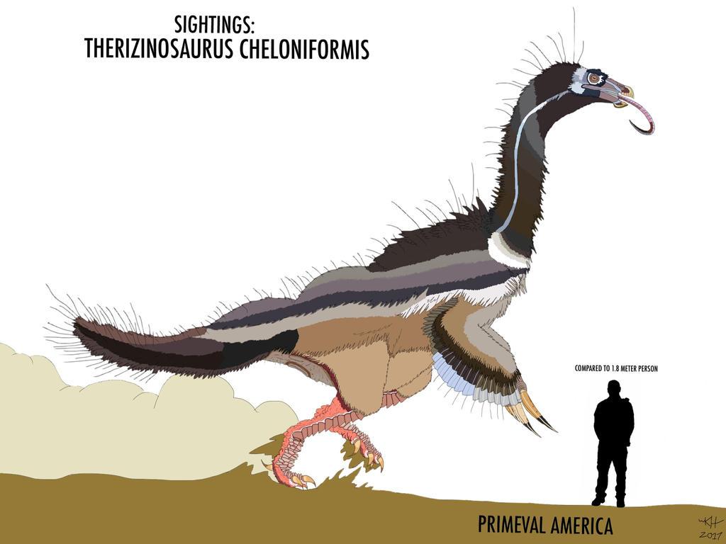 PA: THERIZINOSAURUS (updated 2017) by HUBLERDON