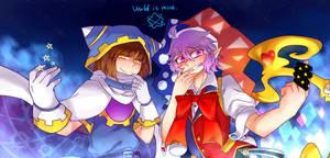 World is mine by zlxcoco100
