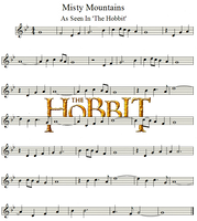 The Hobbit   Misty Mountains   Violin by valdesu