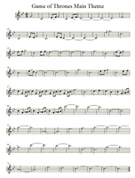 Game of Thrones Theme   Violin by valdesu