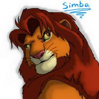 Simba by GalacticZero