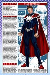 Capital Comics handbook, Page 24: Star Superion by CapitalComicsStudios