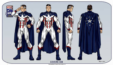 Sovereign by CapitalComicsStudios
