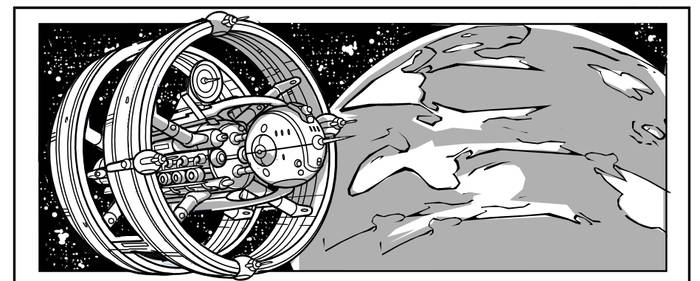 Buck Rogers Page 1 Preivew panel the Asterite!