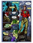 Buck Rogers Fan comic page 2 Colors