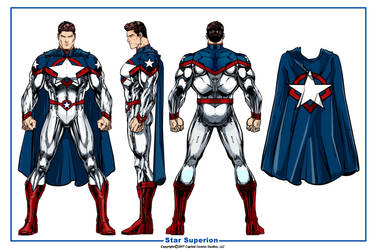 Star Superion Prime by CapitalComicsStudios