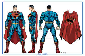 Superman Kingdom Model Sheet