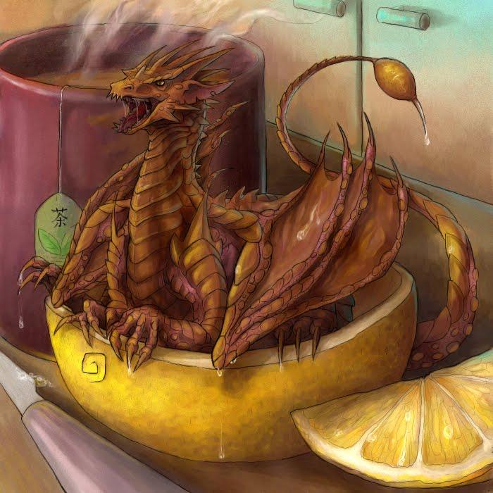 Cytrus Dragon by k0niczyna