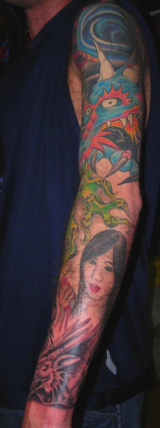 Chances sleeve part 2 - sleeve tattoo