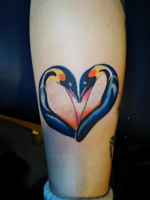 Penguin tattoos designs
