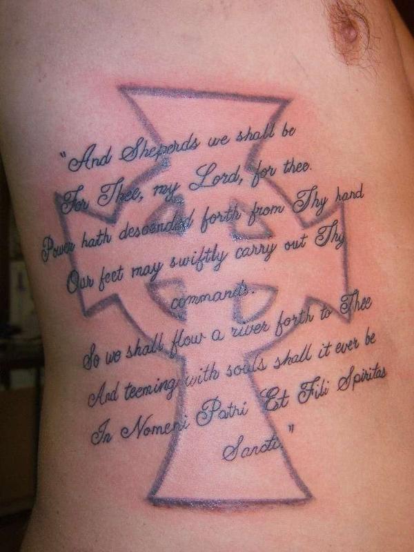 Hot rod car tattoos boondocks saints tattoos meaning for Boondock saints tattoo