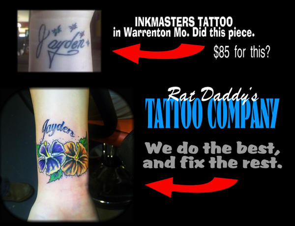 Tattoo coverup promo by ratdaddytattoo on deviantART