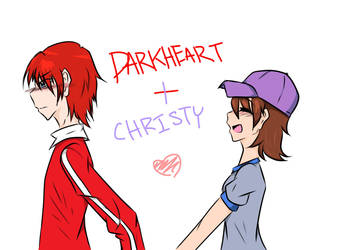Darkheart and Christy by NocturnalKappa