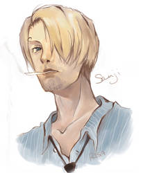 One Piece : Sanji by kurarisa