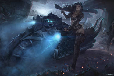 Undead Huntress by Hanseul-Kim