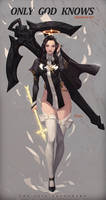 Study - Nun + Archer - Holy Arrow