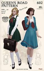 Queen's Road - School uniform by Hanseul-Kim
