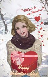 Valentine by Hanseul-Kim