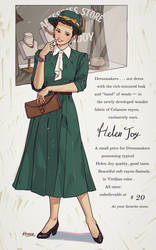 Dressmaker Helen Joy by Hanseul-Kim