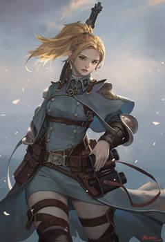 Girl in the Battlefield