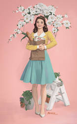 Spring's awakening by Hanseul-Kim