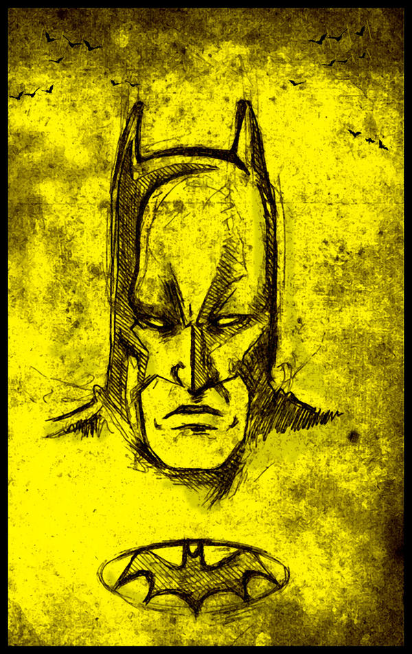 The Dark Knight by vivalarobots