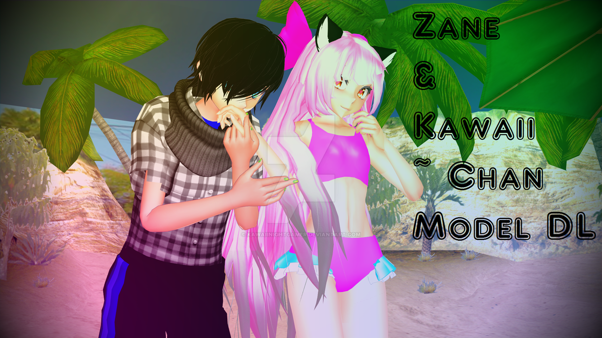 MMD Kawaii~Chan and Zane Starlight Model DL by