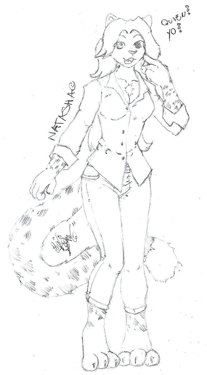Natasha Leopard by Zomain