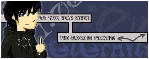 Ticking Clock? by eckstacy