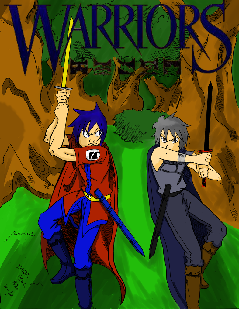Warrior Cats as Humans Anime Human Warrior Cats Cover Art
