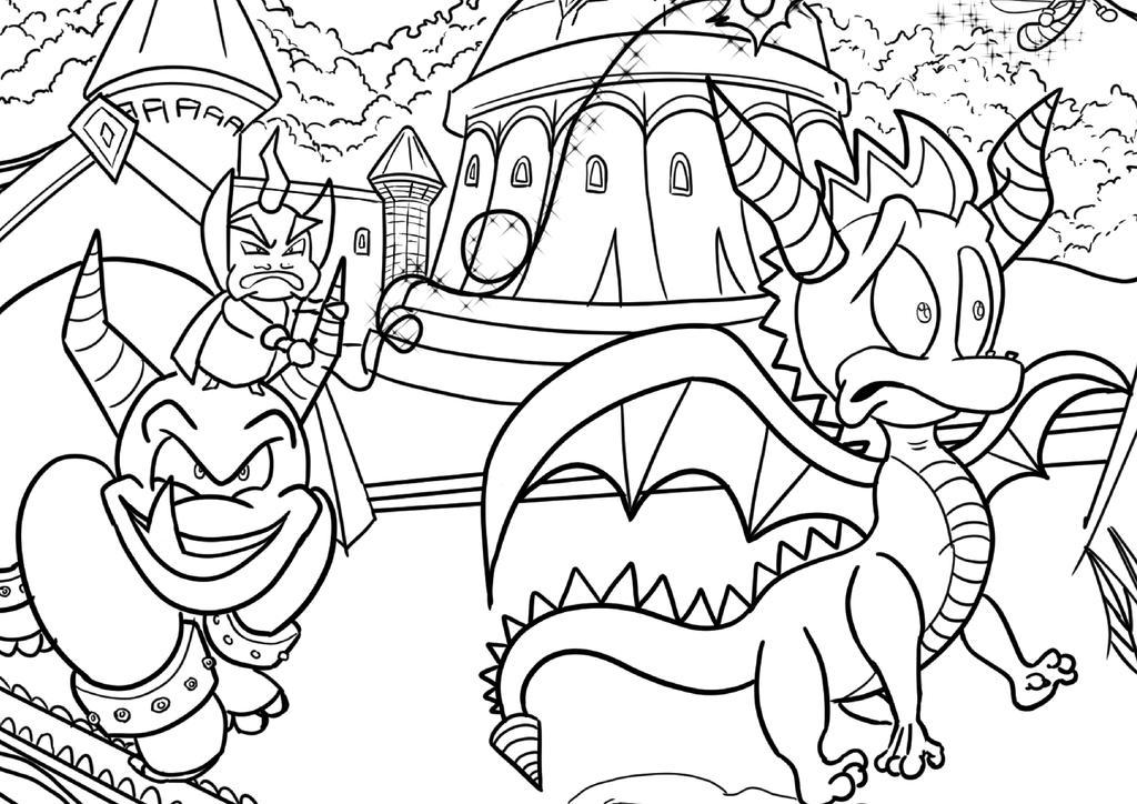 Spyro Thumbnail by zeldalegends4525