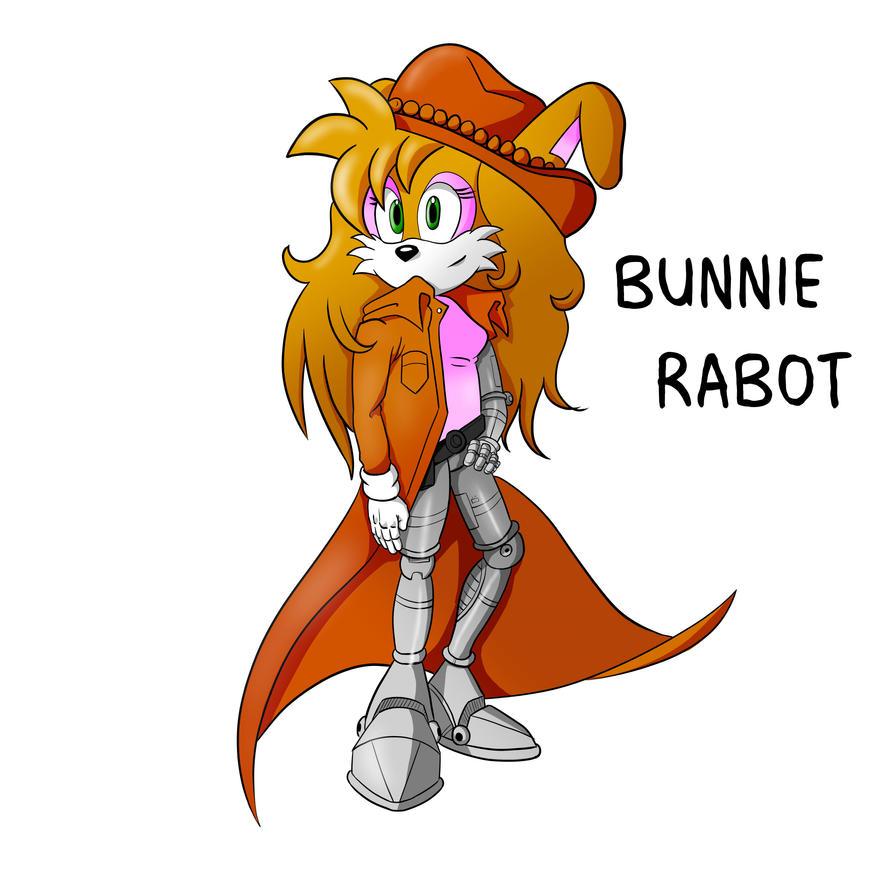 Bunnie Rabot IDW Redesign Mock up by zeldalegends4525