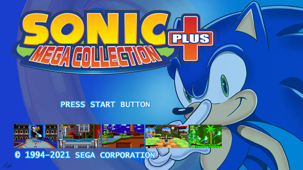 30 days of Sonic - Title screen