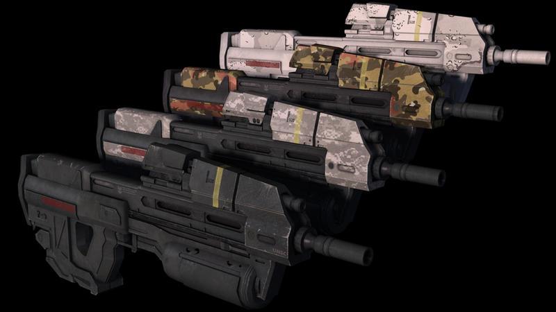 Halo Reach Assault Rrifle Camo by KonstantinL