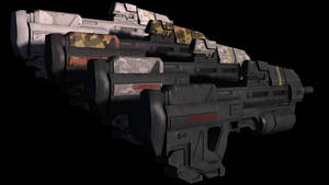 Halo Reach Assault Rrifle 2