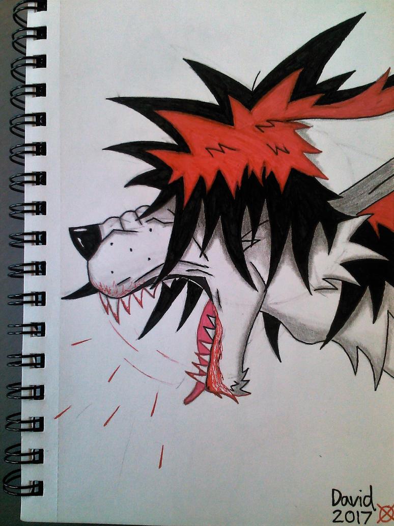 Michael rage by SlenderDave666