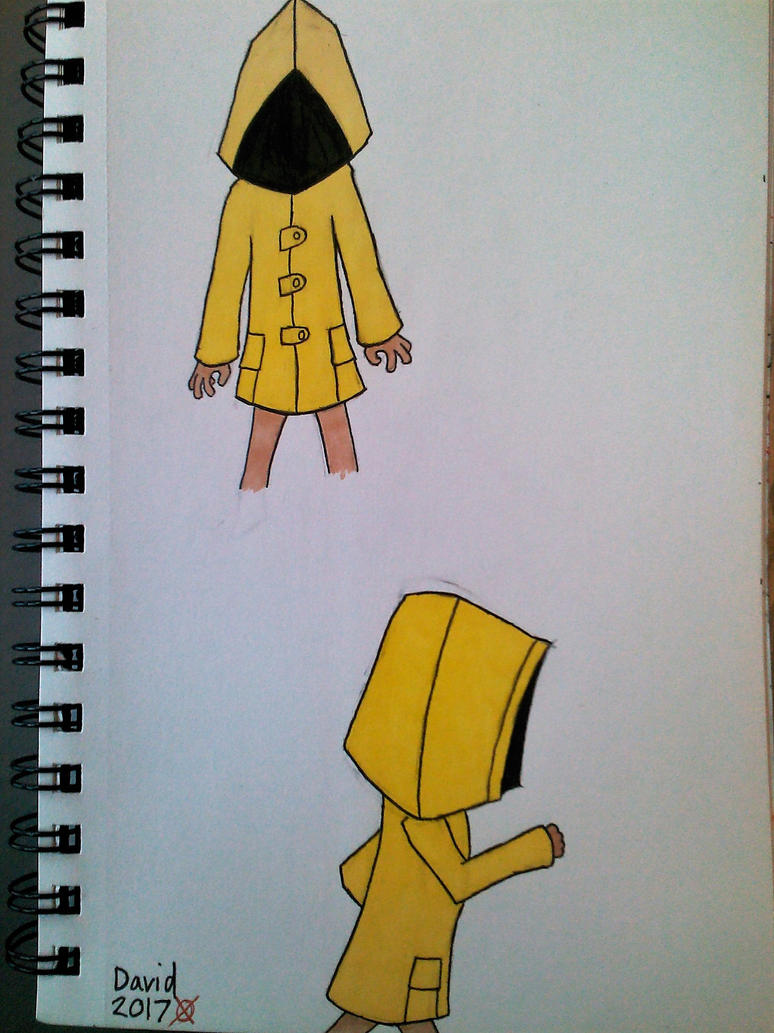Little Nightmares ~ Six sketches by SlenderDave666